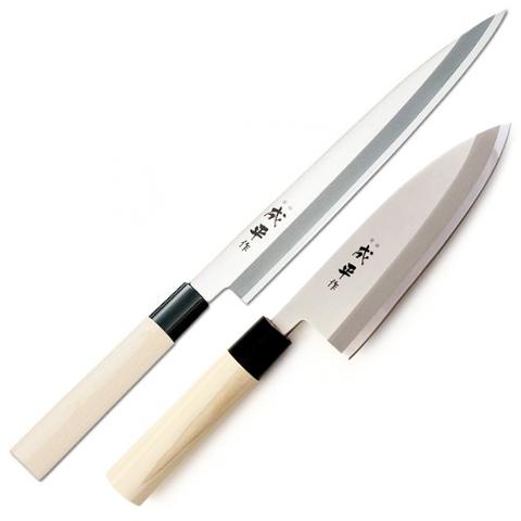 Juego de cuchillos for Cuchillos japoneses tipos