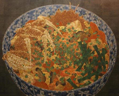 Donburi pintado por Hiroomi Itō