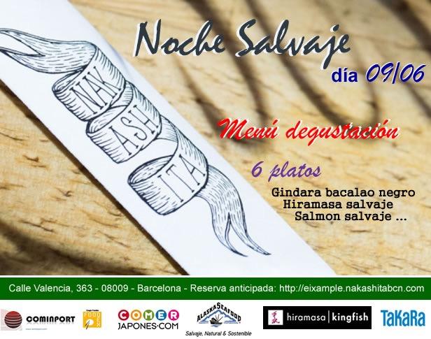 Próxima Cena Salvaje en Nakashita. Save the date!