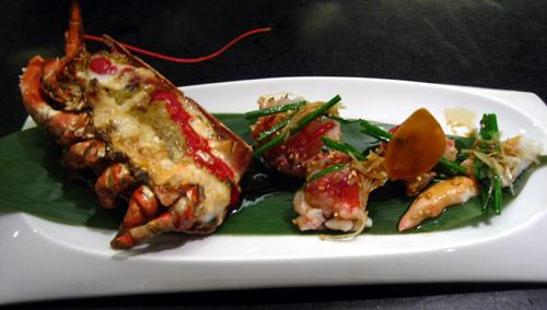 Sashimi de langosta al estilo de Nobu