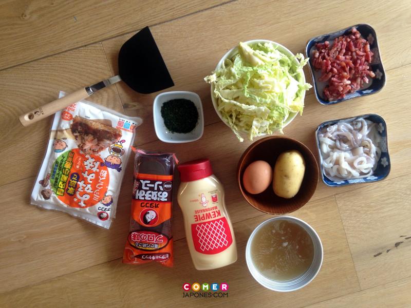 Receta de Okonomiyaki, la pizza japonesa