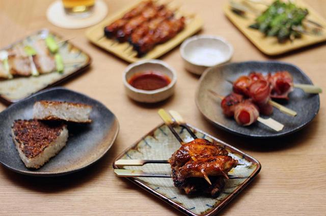 Robata, nuevo grill japonés en Barcelona