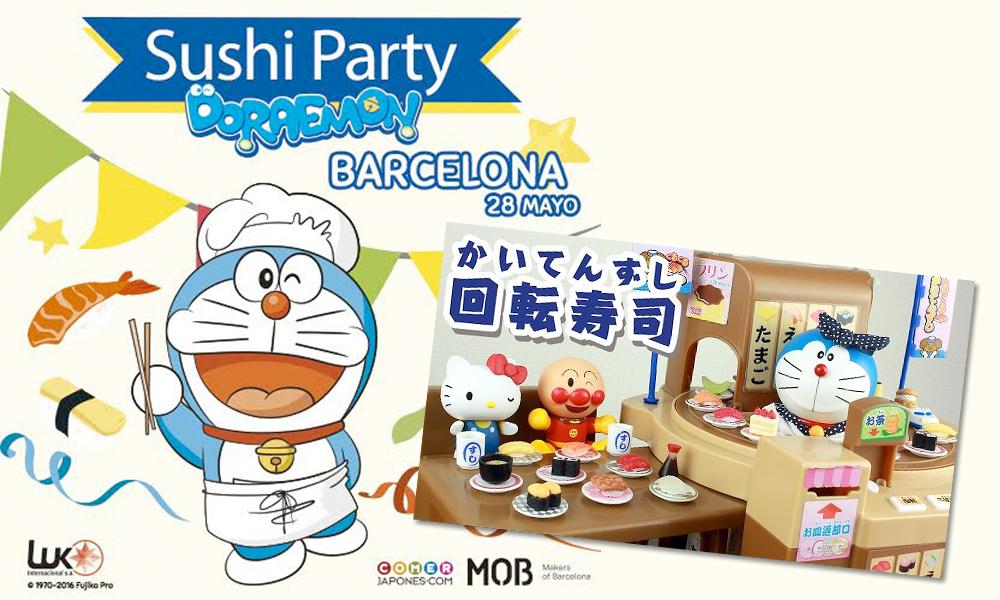 sushi-party-doraemon