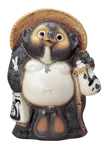 Figurita de un tanuki